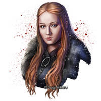 Sansa Stark / Lady of Winterfell by yagihikaru