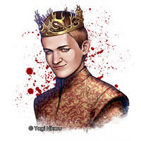 Joffrey Baratheon / The False King by yagihikaru