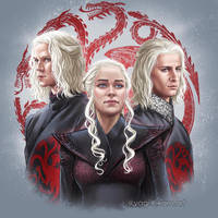 Targaryen siblings by yagihikaru