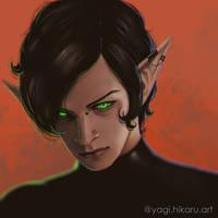 Green Eyes by yagihikaru