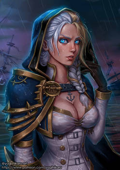 Jaina Proudmoore/Daughter of the Sea