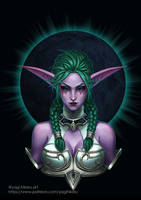 Tyrande the Night Warrior