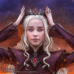 Daenerys Targaryen the Crowned Queen
