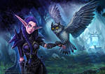 Tyriana and Ghostfeather