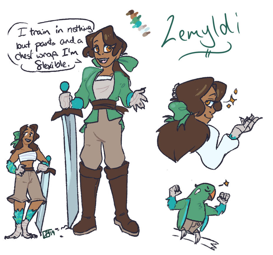Lemyldi the Avos by TheWolfieWulf