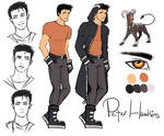 Peter Reference doodles