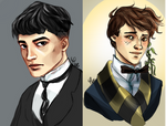 Credence and Newt