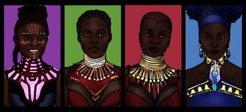 Ladies Of Wakanda by phy-be