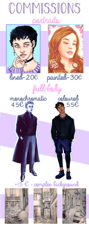 [Open] Commissions