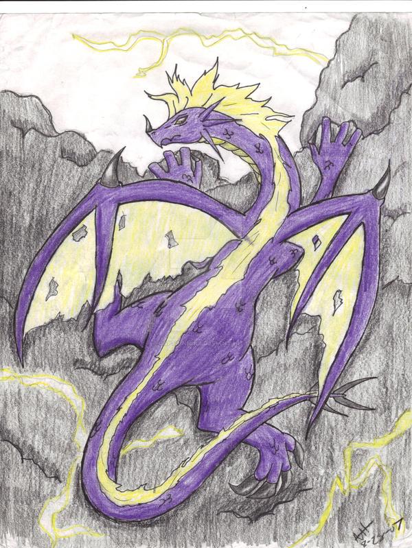 Lightning Dragon by CaptainMika