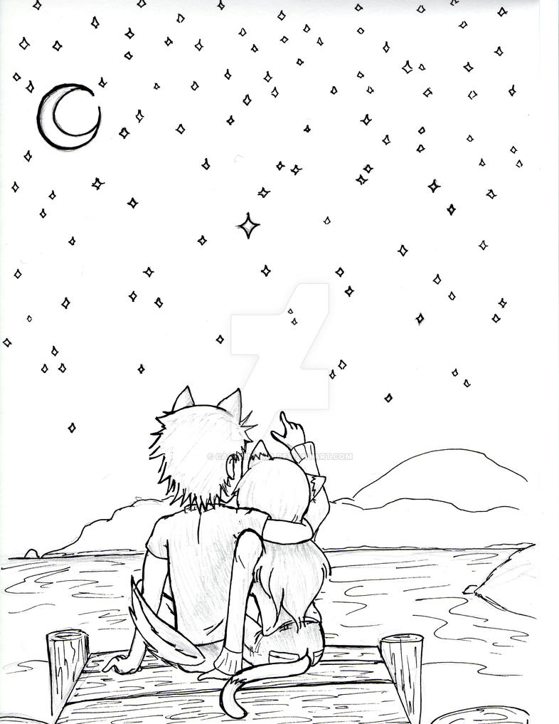 doodle: nightlight by CaptainMika