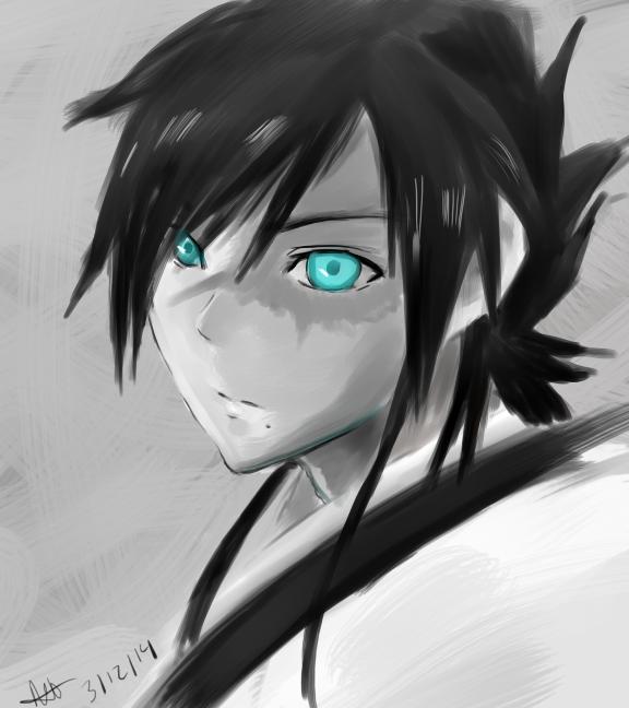 Speed Paint _ Hakuryuuu by CaptainMika