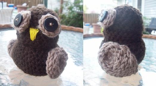 Amigurumi Owl Beak : Amigurumi Owl by Nightowl143 on DeviantArt