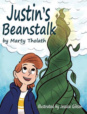 Justin's beanstalk Front Cover by barneyjones123
