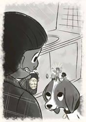 Justin's beanstalk sample illustration-3