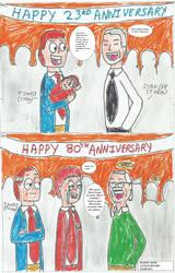 TV TALES fan art - marvels 80th anniversary