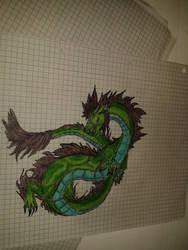 Green Dragon by Sefira-ry