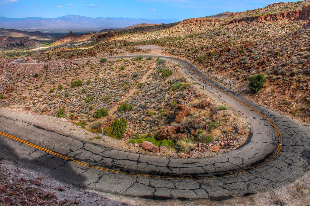 Route 66 switchbacks to Oatman, AZ by Crazyfloyd on DeviantArt