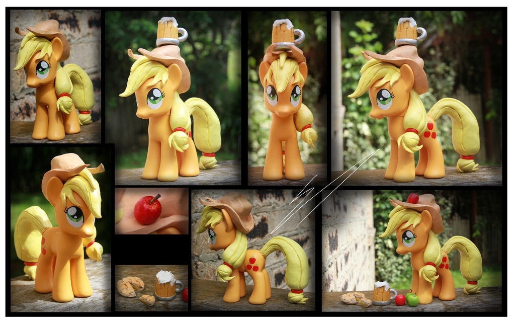 Commission - Applejack custom by Nazegoreng