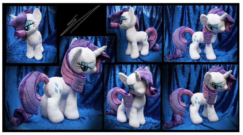 SOLD: Rarity plush V2 by Nazegoreng