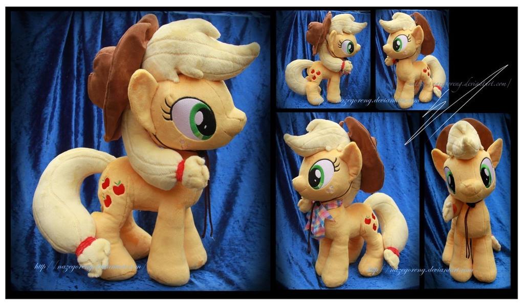 Applejack Custom Plush by Nazegoreng