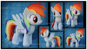 Rainbow Dash Custom Plush