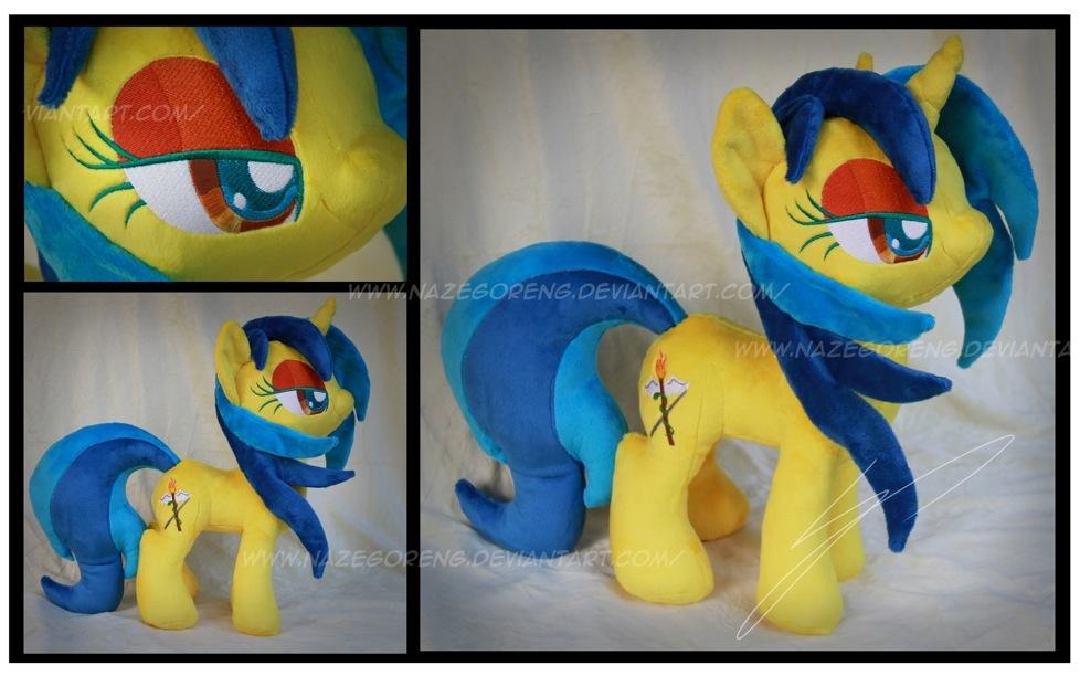 Trade: Mina OC Custom Plush by Nazegoreng