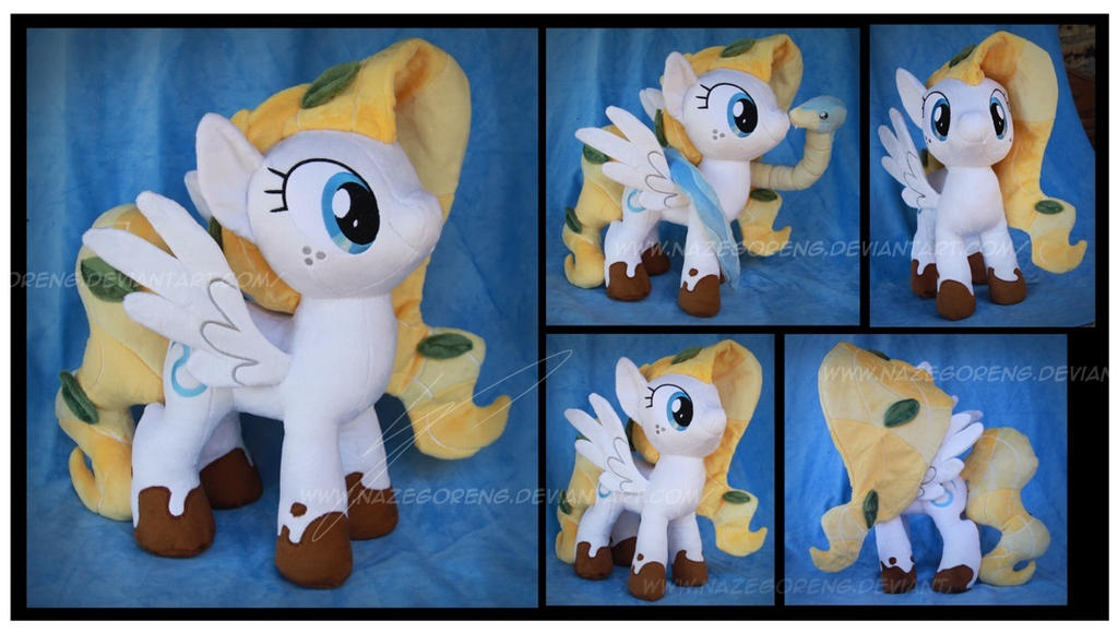 Cobalt OC Custom Plush by Nazegoreng