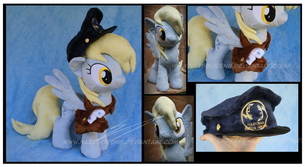 Derpy Hooves Custom Plush - With Accessories by Nazegoreng