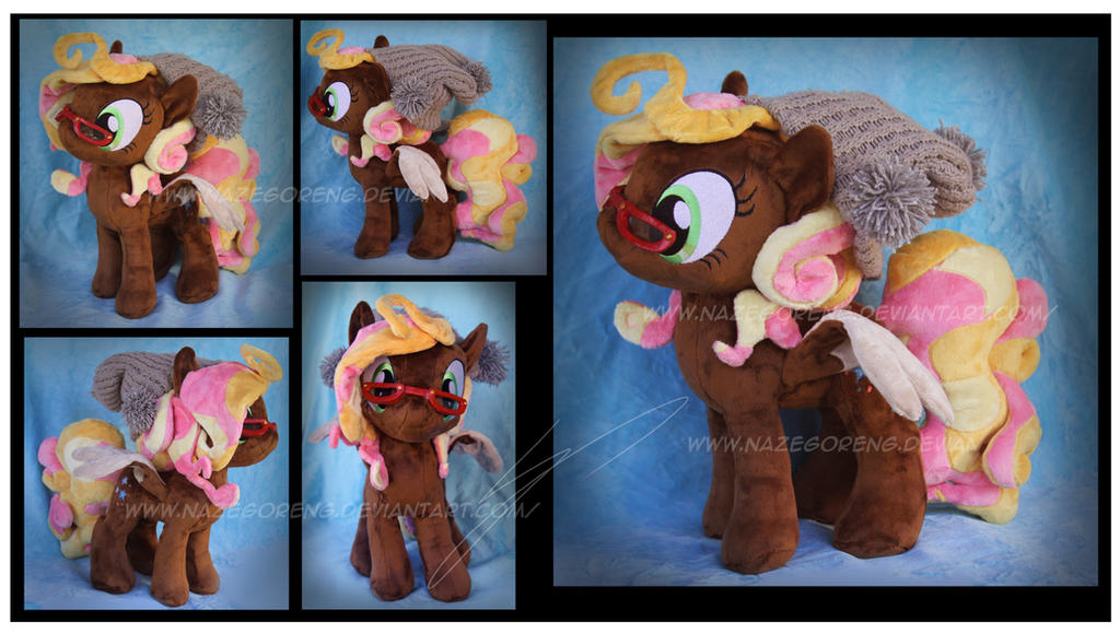 Trade: Cotton Thread OC Custom Plush by Nazegoreng