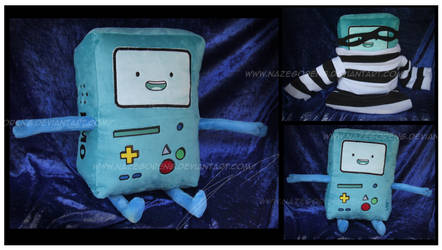 Gift: BMO Robber Plush by Nazegoreng