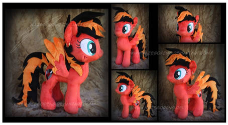 Commission: Gracie Heart Custom Plush
