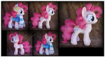Commission: Winter Wrap-up Pinkie Pie Custom Plush