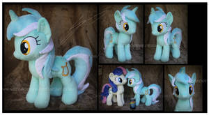 Lyra Heartstrings Custom Plush