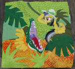 Daring Do - Pony Quilt Project Everfree 2014