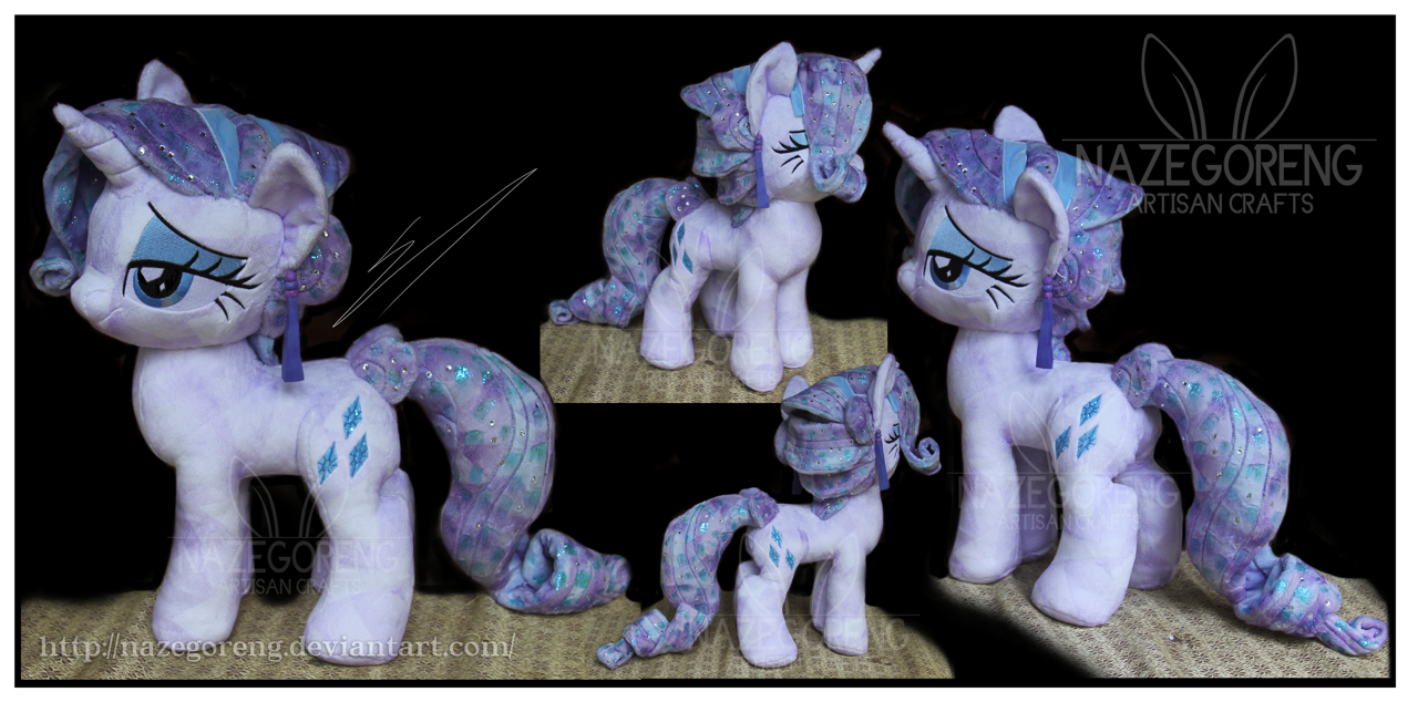 SOLD: Crystal Rarity Custom Plush by Nazegoreng