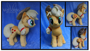 Trade: Applejack Custom Plush