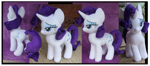 Rarity Custom Plush by Nazegoreng