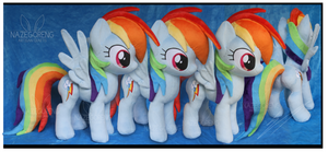 Commission: Rainbow Dash Custom Plush