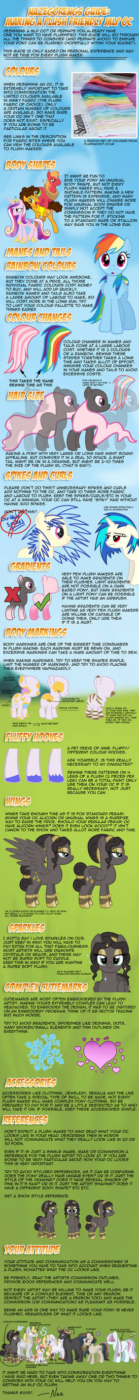 Naz's Guide - How to Make a Plush Friendly MLP OC