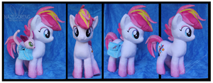 Commission: Zowie Stardust OC Custom Plush