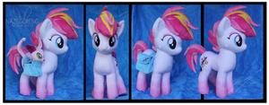 Commission: Zowie Stardust OC Custom Plush