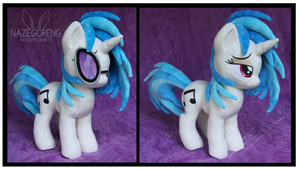 Vinyl Scratch Custom Plush