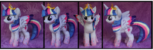 Rainbow Power Princess Twilight Plush by Nazegoreng