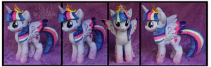 Rainbow Power Princess Twilight Plush