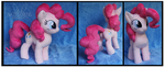 Commission: Pinkie Pie Custom Plush by Nazegoreng