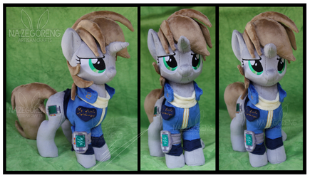Commission: Littlepip Custom Plush by Nazegoreng