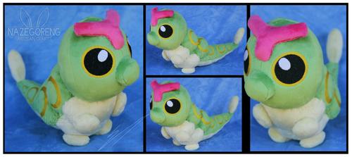 Commission: Caterpie Custom Plush