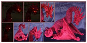 Smaug Custom Plush by Nazegoreng