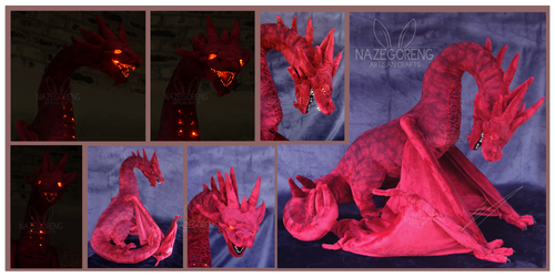 Smaug Custom Plush by Nazegoreng
